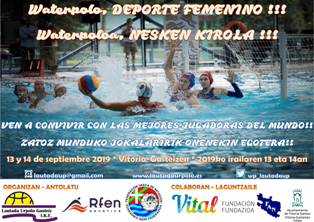 CartelWaterpoloDeporteFemenino
