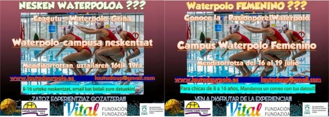 Campus de waterpolo FEMENINO